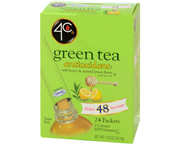 TEA 2 GO ICED TEA MIX GREEN TEA TE VERDE CON MIEL BOX 24 STIX