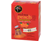 TEA 2 GO ICED TEA MIX RED TEA PEACH TE ROJO DURAZNO BOX 24 STIX