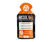 ACCEL GEL DEPORTIVOS ENERGIZANTES BOX DE 24 UNID CITRUS ORANGE