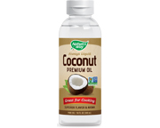 NATURES WAY COCONUT OIL 100% ACEITE DE COCO EXTRA VIRGEN 300ML