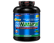 ALLMAX ISONATURAL PROTEINA WHEY ISOLATE VEGETAL SIN LACTOSA 5 LB