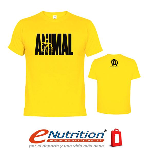 ANIMAL T-SHIRT ICONIC POLERA DEPORTIVA DE ENTRENAMIENTO (XXL) YELLOW dcec452f4fa