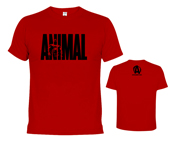 ANIMAL T-SHIRT ICONIC POLERA ENTRENAMIENTO (L) RED