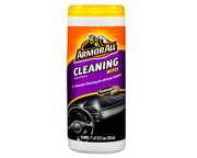 ARMOR ALL CLEANING WIPES TOALLITAS LIMPIEZA PARA EL AUTO 25 UN