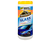 ARMOR ALL GLASS WIPES TOALLITAS LIMPIEZA PARA VIDRIOS 25 UN