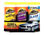 ARMOR ALL PROTECTANT + CLEANING + GLASS WIPES TOALLITAS LIMPIEZA
