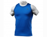 BETTER BODIES POLERA DEPORTIVA PERFORMANCE TANK (L) STRONG BLUE