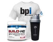 BPI BUILD-HD CREATINA N°1 DEL MUNDO CRECIMIENTO MUSCULAR STACK