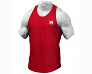 BETTER BODIES POLERA DEPORTIVA ESSENTIAL T-BACK (S) RED