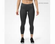 BETTER BODIES PANTALON WOMENS ASTORIA TIGHTS (XS) GRAPHITE MELAN