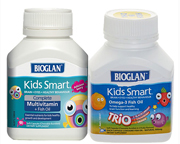 BIOGLAN KIDS SMART MULTIVITAMINICO + OMEGA 3 PARA NIÑOS PACK