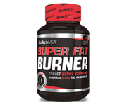 BIOTECHUSA SUPER FAT BURNER SUPER QUEMADOR DE GRASAS 120 CAPS