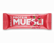 BIOTECHUSA MUESLI BAR BARRAS DE PROTEINA ENERGY BAR 28 UN BERRY