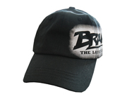BRACHIAL JOCKEY DENIM FLEXFIT BASECAP FAME (S-M) BLACK