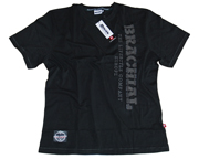 BRACHIAL POLERA DEPORTIVA TEE OVER T-SHIRT (M) ANTHRACITE/GREY
