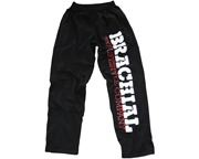BRACHIAL PANTALON DEPORTIVO GYM TRAINING PANT (M) BLACK/WHITE