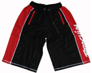 BRACHIAL SHORTS DE ENTRENAMIENTO HOT SHORT (M) BLACK/RED