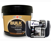 MUSASHI PROTEINA BULK ADVANCED 4 LBS + KIT REXONA MEN ALL BLACKS