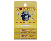 BURTS BEES BALSAMO LABIAL HUMECTANTE BEESWAX LIP BALM PACK 2 UN