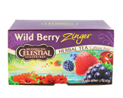 CELESTIAL SEASONINGS WILD BERRY ZINGER TE DE HIERBAS BERRY 20 BA