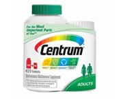 CENTRUM MULTIVITAMINICO Y MULTIMINERAL DE A-Z 425 TABS