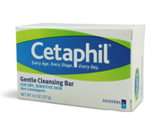 CETAPHIL GENTLE CLEANSING BAR JABON EN BARRA LIMPIADOR 127GR