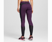 CHAMPION C9 WOMENS TEXTURE LEGGING (S) PURPLE