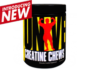 UNIVERSAL CREATINE CHEWS CREATINA MASTICABLE 144 CHEWS GRAPE