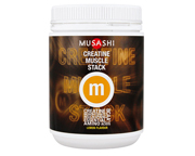 MUSASHI CREATINE MUSCLE STACK CREATINA 300 GR LEMON FLAVOUR