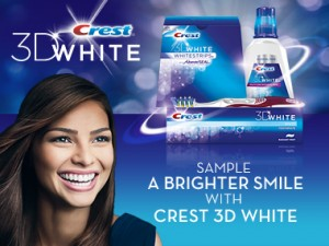 how to put on 3d crest white strips luxe