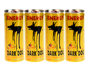 DARK DOG ENERGY DRINK BEBIDA ENERGIZANTE 250ML 12 UNID PACK