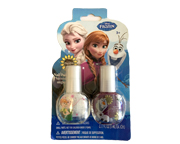 DISNEY FROZEN NAIL POLISH SET ESMALTE DE UÑAS 2 UNID PACK