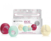 EOS SMOOTH SPHERE LIP BALM LABIAL DAZZLING DECORATIVE HOLIDAY 3