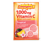 EMERGEN-C MULTIVITAMINICO VITAMINA C 1000MG 30 UNID TROPICAL