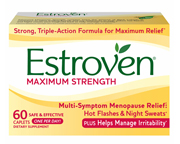 ESTROVEN MAXIMUM STRENGTH ENERGY COMBATE LA MENOPAUSIA 60 CAPS