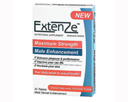 EXTENZE FOR MEN PARA POTENCIAR TAMAÑO, CAPACIDAD Y VIDA SEXUAL