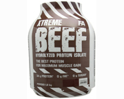 FA NUTRITION XTREME BEEF PROTEIN ISOLATE PROTEINA 4 LB STRAWBERR
