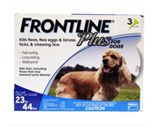 FRONTLINE PLUS FOR DOGS ANTIPARASITARIO PARA PERROS MEDIANOS
