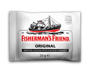 FISHERMANS FRIEND PASTILLAS MENTOL ALIVIAR DOLORES 20 U ORIGINAL
