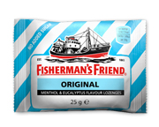 FISHERMANS FRIEND PASTILLAS MENTOL SIN AZUCAR 120 U ORIGINAL