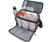 FITMARK THE BOX LG BOLSO ORGANIZADOR DE COMIDAS BLACK