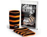 GASP POWER ELBOW SLEEVES MANGAS PROTECTORAS CODOS (L) ORANGE