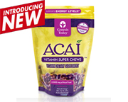 GENESIS TODAY ACAI VITAMIN SUPER CHEWS 2000 MG 30 CHEWS MASTICAB