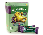 GIN GINS ORIGINAL GINGER CANDY MASTICABLES DE JENGIBRE 20 CHEWY