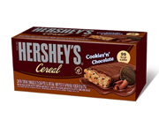 HERSHEYS BARRAS DE CEREAL BOX 12 UNID COOKIES & CHOCOLATE