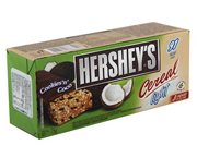HERSHEYS BARRAS DE CEREAL LIGHT BOX 12 UNID COOKIES & COCO
