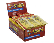 HONEY STINGER GINSTING ENERGY GEL CON CAFEINA Y GINSENG BOX 24 U