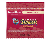 HONEY STINGER CHEWS MASTICABLES CON CAFEINA 10 UNID CHERRY COLA