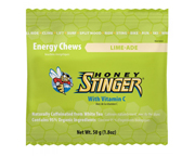 HONEY STINGER CHEWS MASTICABLES CON CAFEINA 10 UNID LIME-ADE