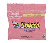 HONEY STINGER CHEWS MASTICABLES ENERGIZANTES 10 UNID PINK LEMONA